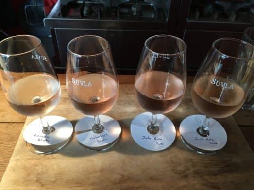 Turkish Wine Tasting Flight