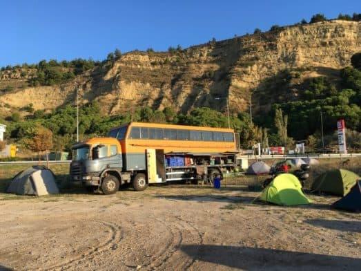 istanbul to Goreme Madventure Camping in Eceabat