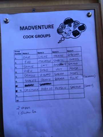 istanbul to Goreme Madventure Cook groups