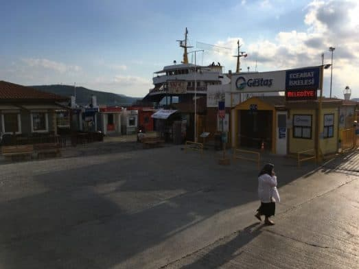 istanbul to Goreme Madventure Ferry to Canakkale