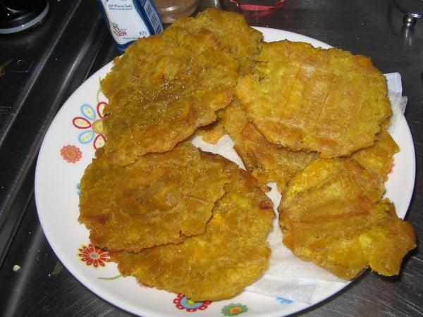 Best Beer snack Ecuador Patacones