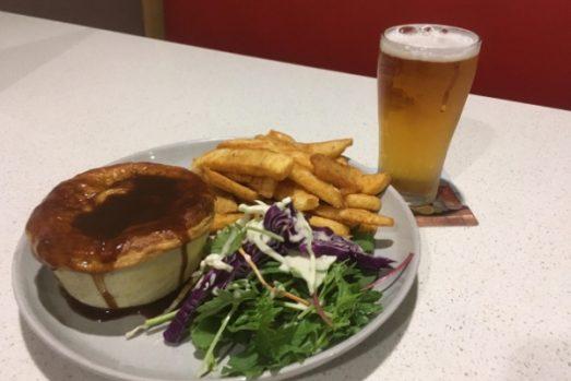 New Zealands Favourite Beer snack Meat Pie