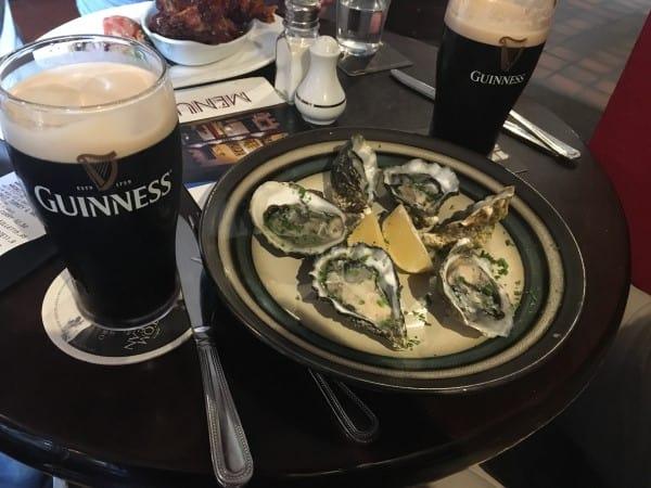 Top Beer Snack Ireland Oysters