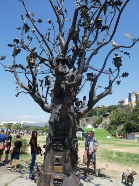 Rike Park Sculpture Tbilisi