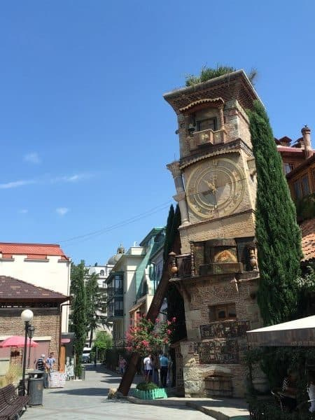 Tbilisi Attractions Gabriadze Clock Tower