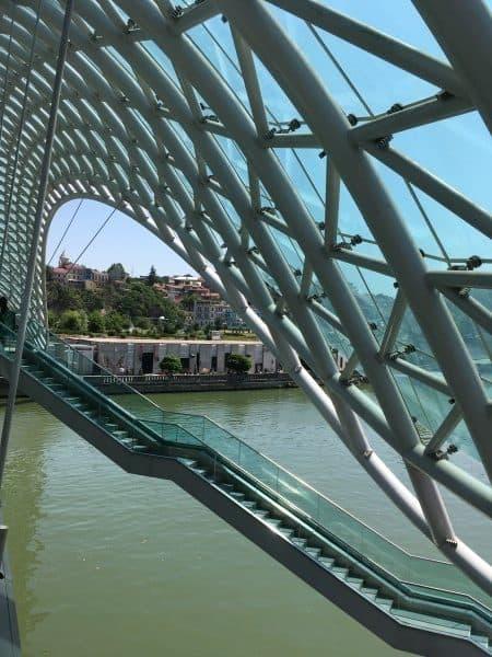 Tbilisi things to do Peace BRidge