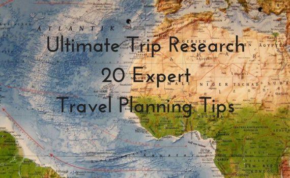 20 Expert Travel Planning Tips update