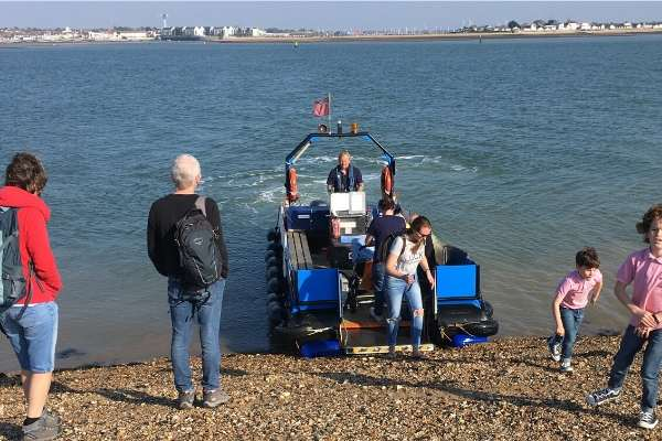 Mersea Island Foot Ferry to and from Brightlingsea