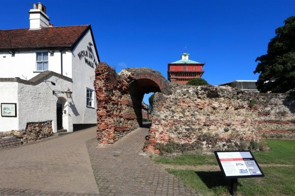 things to do in colchester visit colchester roman walls