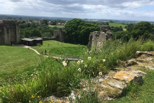 View from Pickering Castle