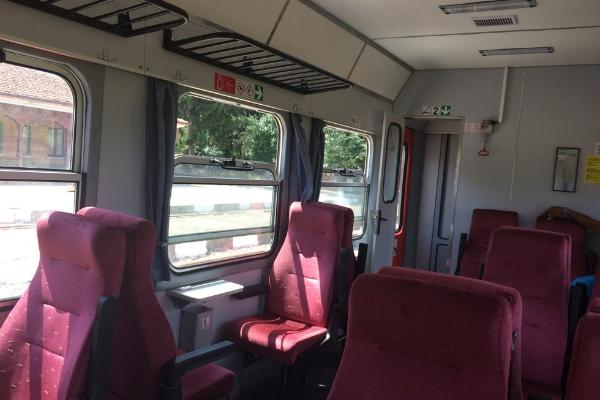 Bansko to Septemvri train carriageBansko to Septemvri train carriage