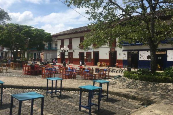 Plaza del Libertador Jardin
