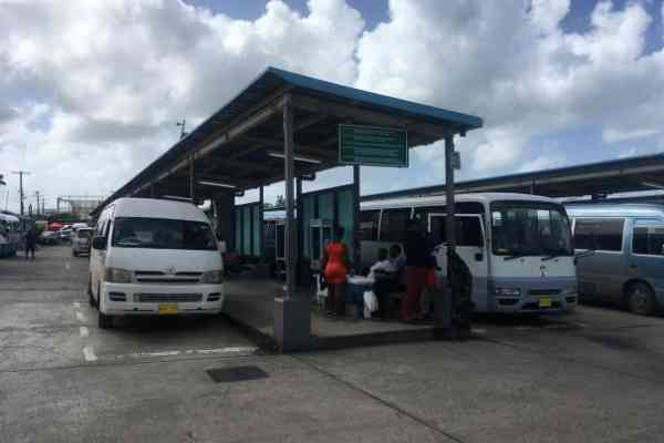 Local buses in Antigua