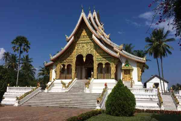 Pha Bang Temple Building