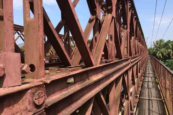 The Old Bridge Luang Prabang
