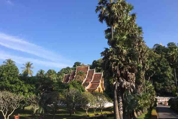 view of the Royal Palace Museum Luang Prabang