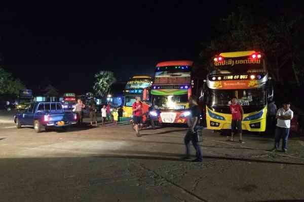VIP buses in Pakse
