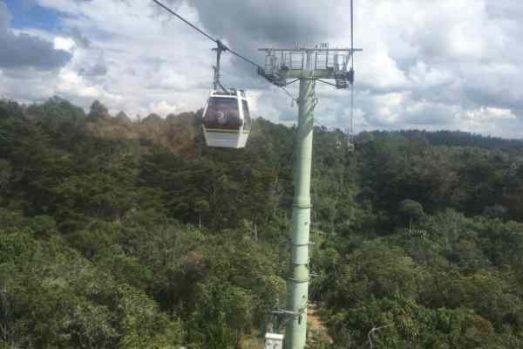 Parque Arvi cable car