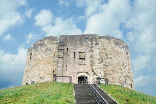 Castles in Yorkshire Clifford Tower York Castle