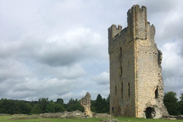 Castles in Yorkshire Helmsley Castle