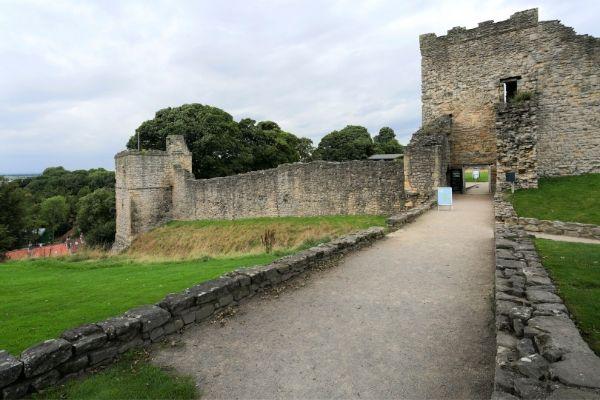 Castles in Yorkshire Pickering Castle