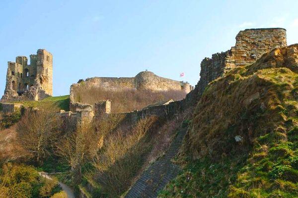 Castles in Yorkshire Scarborough Castle
