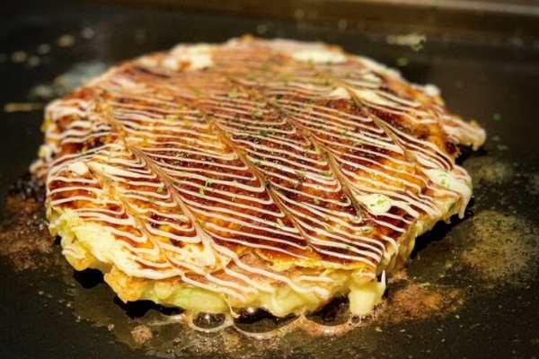 Okonomiyaki from Japan