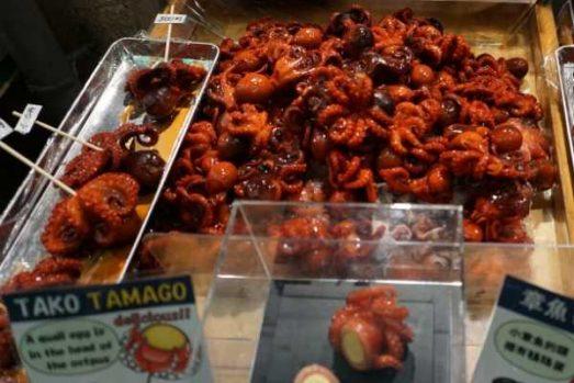 best japanese snacks Tako tamago