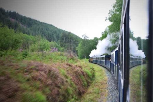 Ravenglass Eskdale railway things to do in the lake district